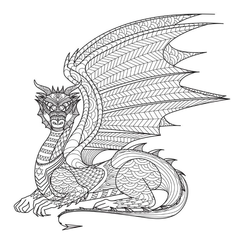 dragon mandala - mandalamaker.online